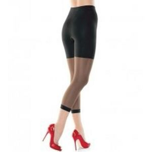 Assest By Spanx Footless Shaping Tights Black 6&7